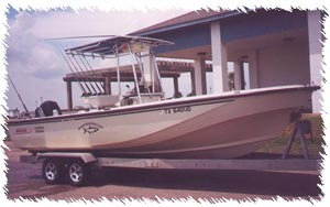 Guided Saltwater Fishing trips out of Galveston, Texas Guided Bass Fishing Trips to Lakes Conroe and Livingston